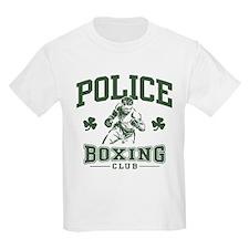 Irish Police Boxing T-Shirt