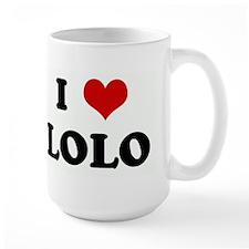 I Love LOLO Mug