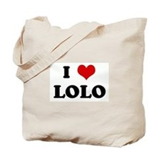 I Love LOLO Tote Bag