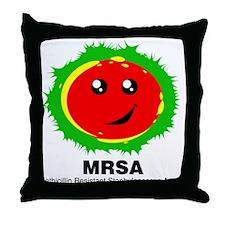 MRSA Throw Pillow