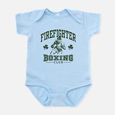 Irish Firefighter Boxing Infant Bodysuit