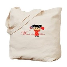 International Adoption ~ Chin Tote Bag