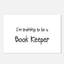 I'm training to be a Book Keeper Postcards (Packag
