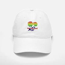 Rainbow Flower Marriage Baseball Baseball Cap