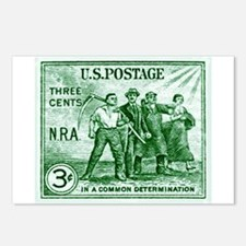 Stamp collecting Postcards (Package of 8)