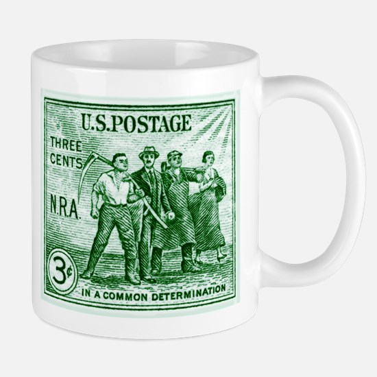 Unique Postage stamps Mug