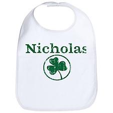 Nicholas shamrock Bib