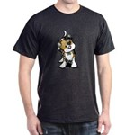 Cupid Calico Kitten Dark T-Shirt