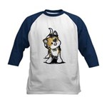 Cupid Calico Kitten Kids Baseball Jersey