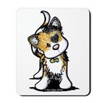 Cupid Calico Kitten Mousepad