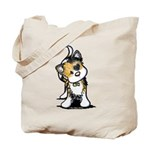 Cupid Calico Kitten Tote Bag