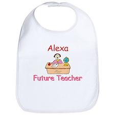 Alexa - Future Teacher Bib