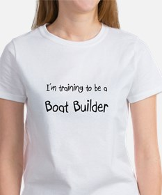 I'm training to be a Boat Builder Tee
