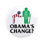 """Change? 3.5"""" Button (100 pack)"""