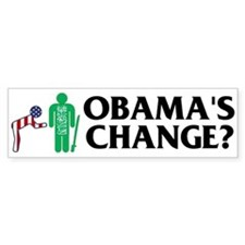 Change? Bumper Bumper Sticker