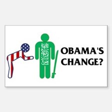 Change? Rectangle Decal
