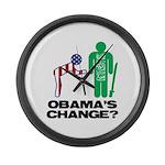 Change? Large Wall Clock