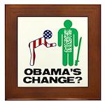 Change? Framed Tile