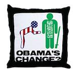 Change? Throw Pillow