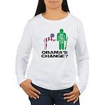 Change? Women's Long Sleeve T-Shirt