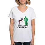 Change? Women's V-Neck T-Shirt
