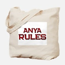 anya rules Tote Bag