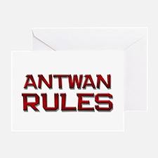 antwan rules Greeting Card
