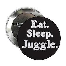 "Eat Sleep Juggle 2.25"" Button"