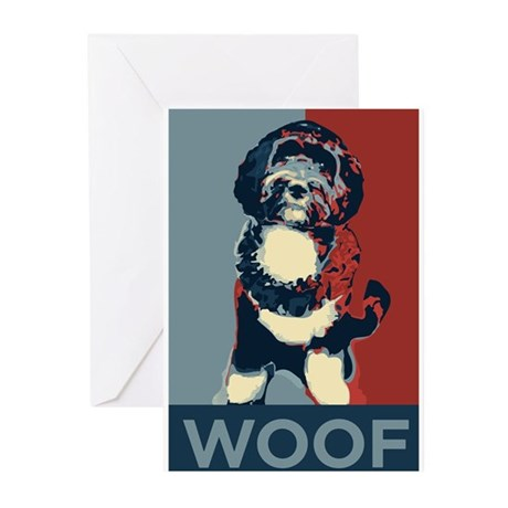 WOOF! Bo The First Dog Greeting Cards (Pk of 20)
