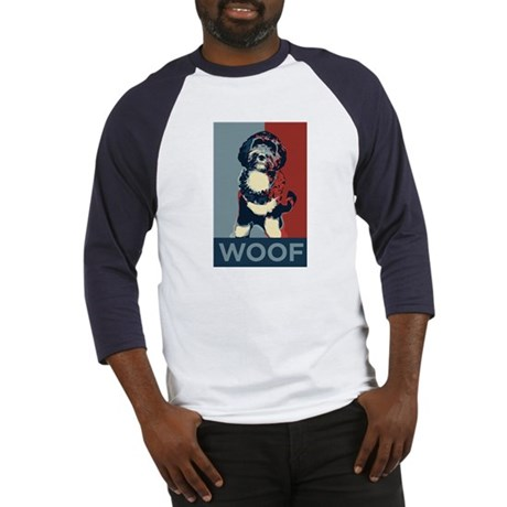 WOOF! Bo The First Dog Baseball Jersey