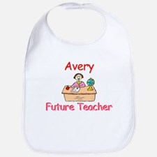 Avery - Future Teacher Bib