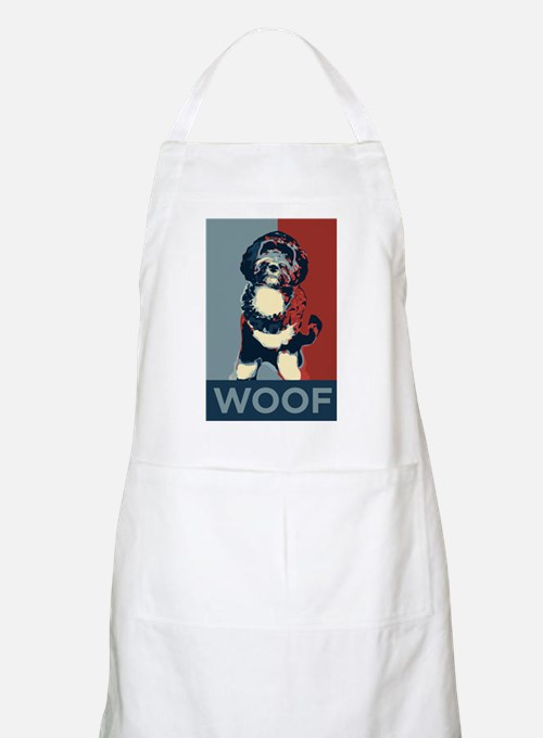 WOOF! Bo The First Dog BBQ Apron