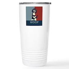 WOOF! Bo The First Dog Travel Mug
