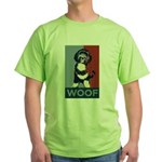 WOOF! Bo The First Dog Green T-Shirt
