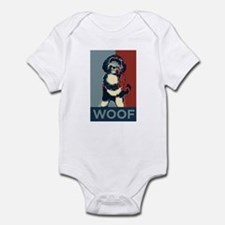 WOOF! Bo The First Dog Infant Bodysuit