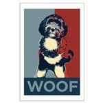 WOOF! Bo The First Dog Large Poster