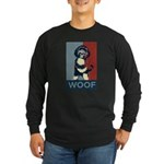 WOOF! Bo The First Dog Long Sleeve Dark T-Shirt
