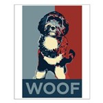 WOOF! Bo The First Dog Small Poster