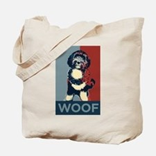 WOOF! Bo The First Dog Tote Bag