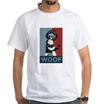 WOOF! Bo The First Dog White T-Shirt