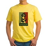 WOOF! Bo The First Dog Yellow T-Shirt