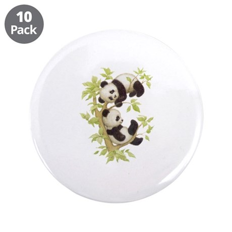 """Pandas 3.5"""" Button (10 pack)"""