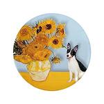 Sunflowers / Rat Terrier 3.5