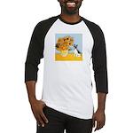 Sunflowers / Rat Terrier Baseball Jersey