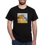 Sunflowers / Rat Terrier Dark T-Shirt