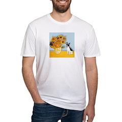 Sunflowers / Rat Terrier Shirt
