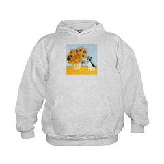 Sunflowers / Rat Terrier Hoodie