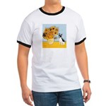 Sunflowers / Rat Terrier Ringer T