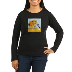 Sunflowers / Rat Terrier T-Shirt