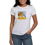Sunflowers / Rat Terrier Women's T-Shirt
